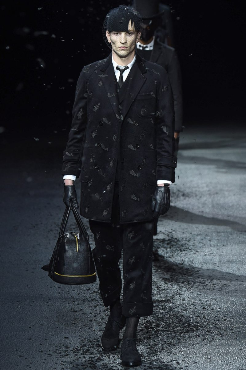 Thom Browne Menswear FW 2015 Paris (6)