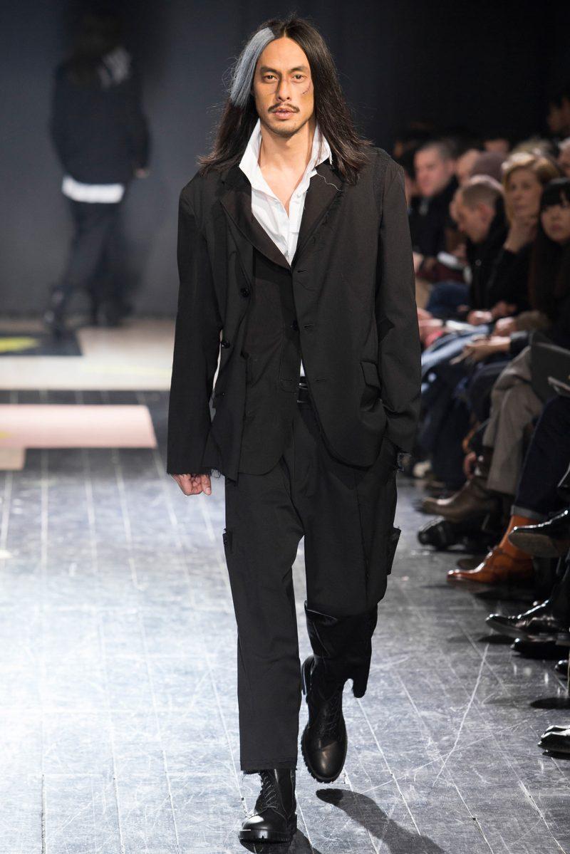 Yohji Yamamoto Menswear FW 2015 Paris (27)