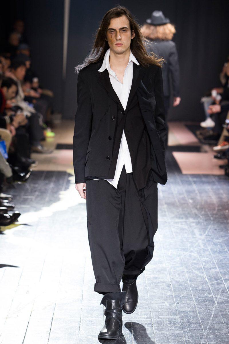 Yohji Yamamoto Menswear FW 2015 Paris (28)