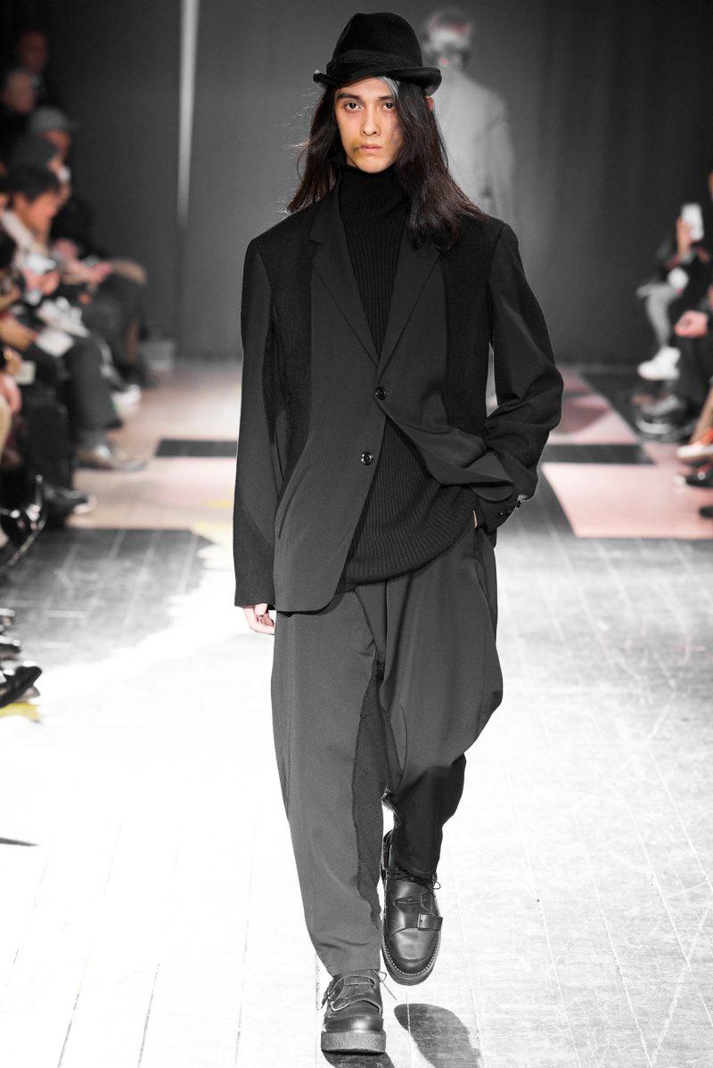 Yohji Yamamoto Menswear FW 2015 Paris (34)