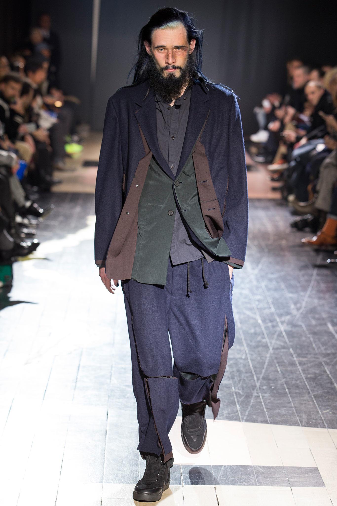 Yohji Yamamoto Menswear FW 2015 Paris