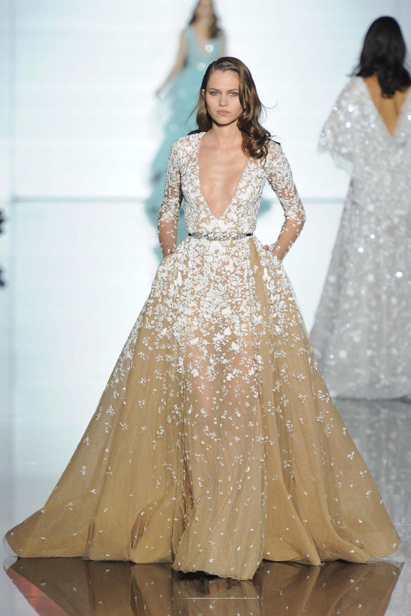 Zuhair Murad Haute Couture SS 2015 Paris (9)