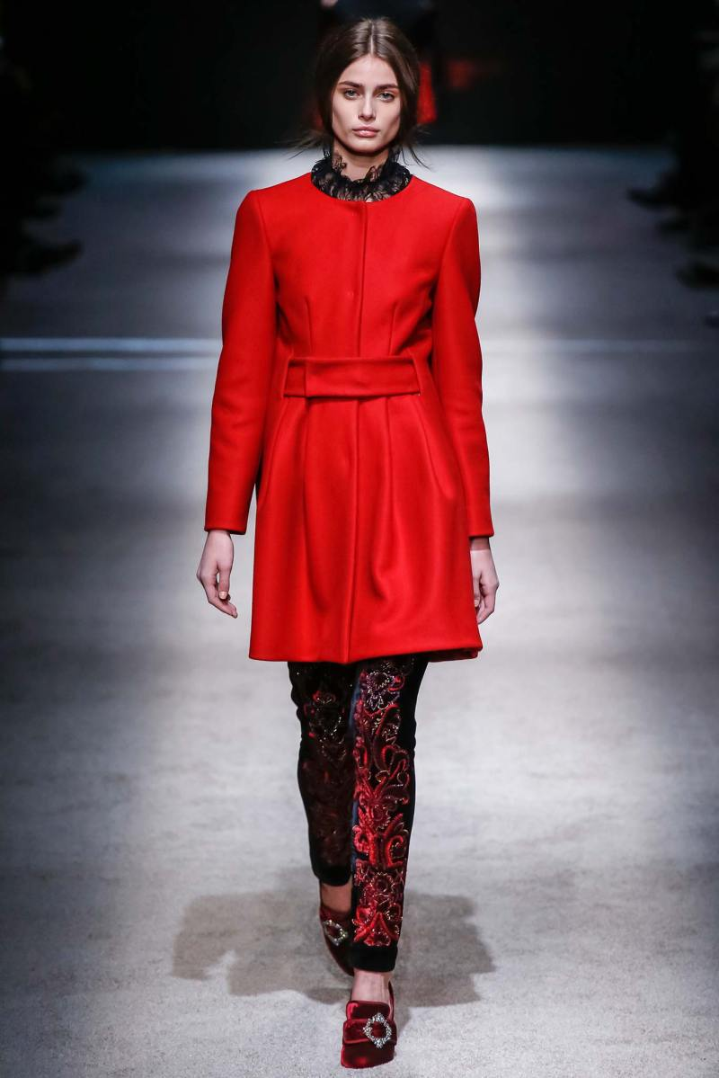 Alberta Ferretti Ready to Wear FW 2015 LFW (10)