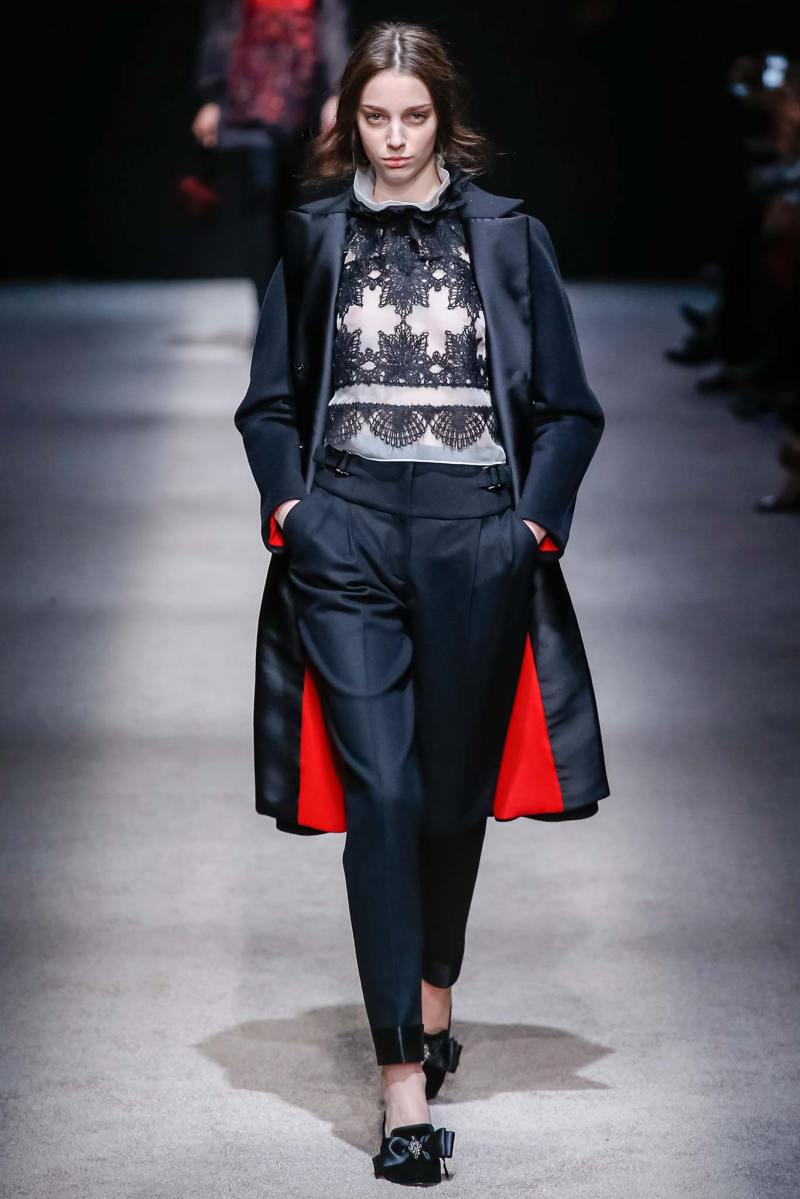 Alberta Ferretti Ready to Wear FW 2015 LFW (11)