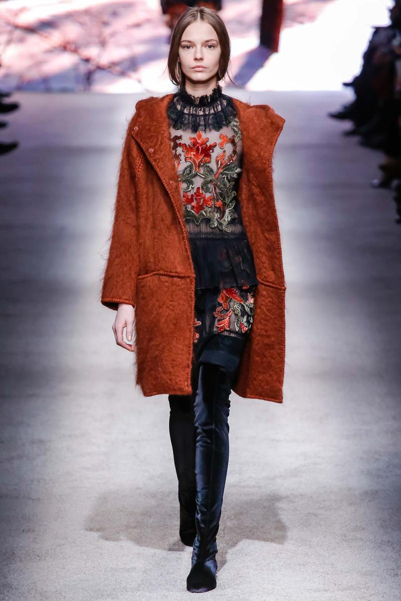 Alberta Ferretti Ready to Wear FW 2015 LFW (26)