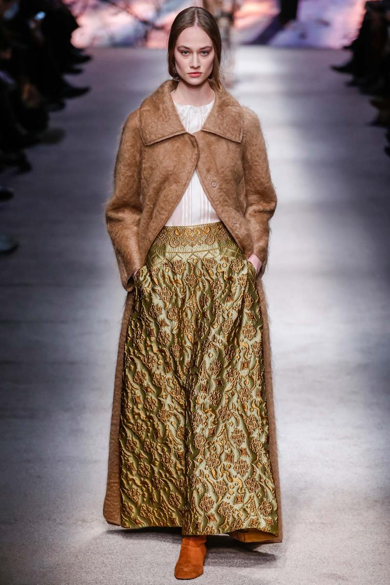Alberta Ferretti Ready to Wear FW 2015 LFW (33)