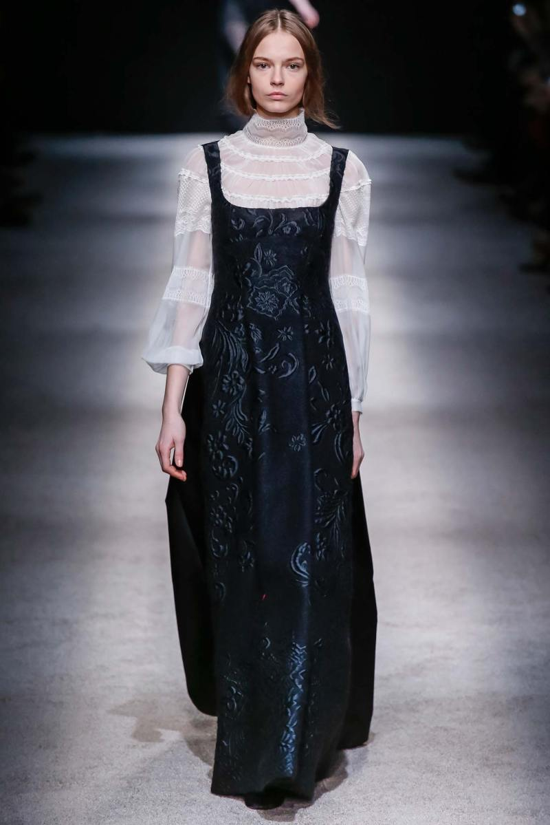 Alberta Ferretti Ready to Wear FW 2015 LFW (49)