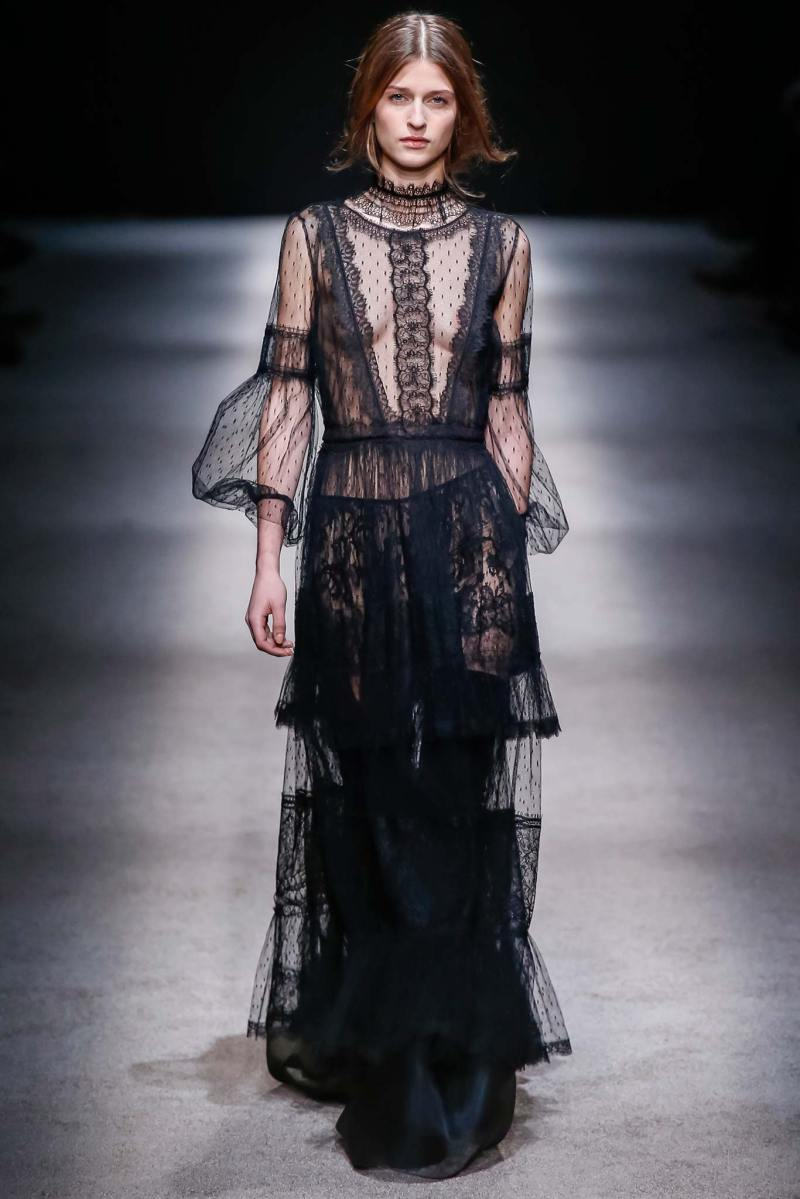 Alberta Ferretti Ready to Wear FW 2015 LFW (51)
