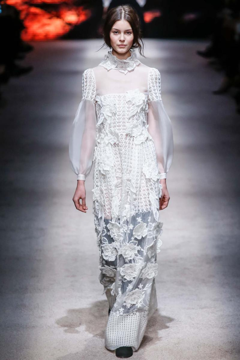 Alberta Ferretti Ready to Wear FW 2015 LFW (6)