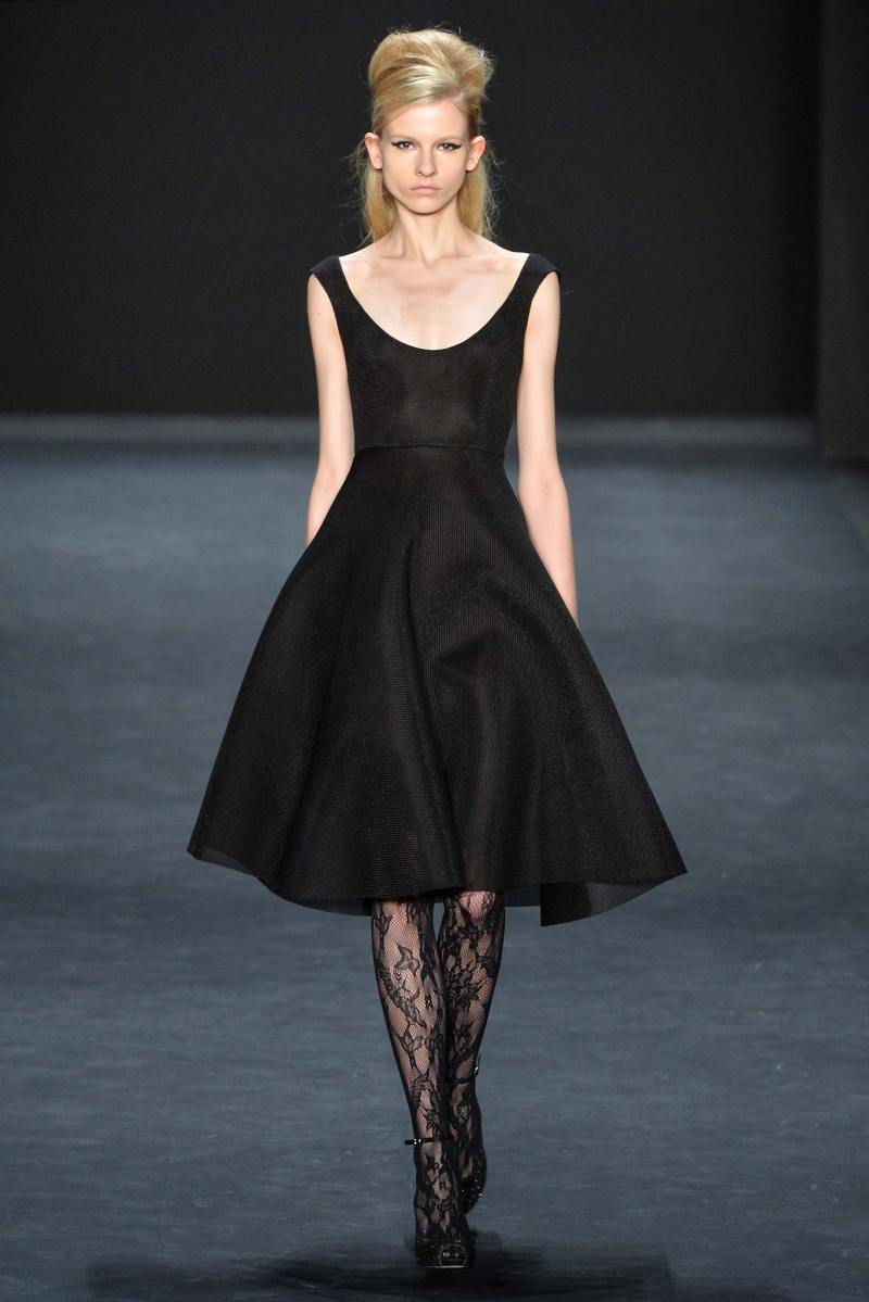 Badgley Mischka Ready to Wear FW 2015 NYFW (11)