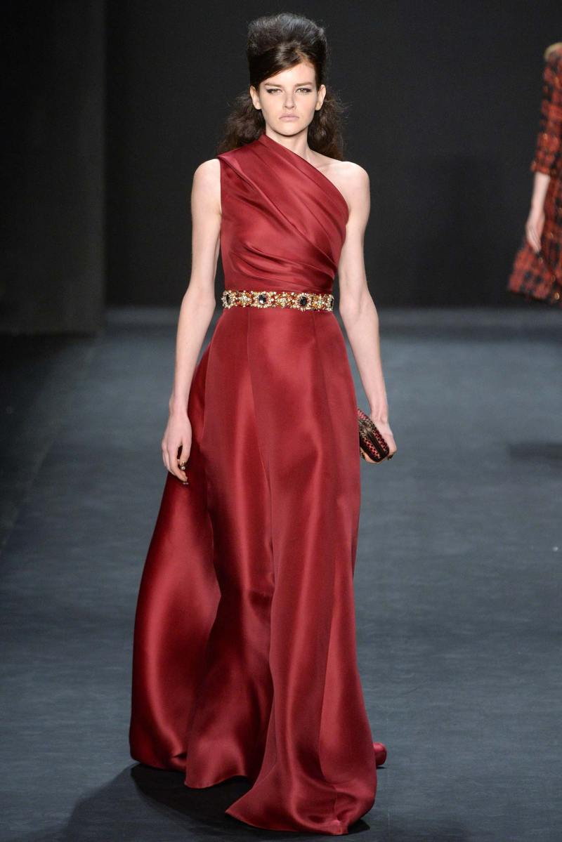 Badgley Mischka Ready to Wear FW 2015 NYFW (21)