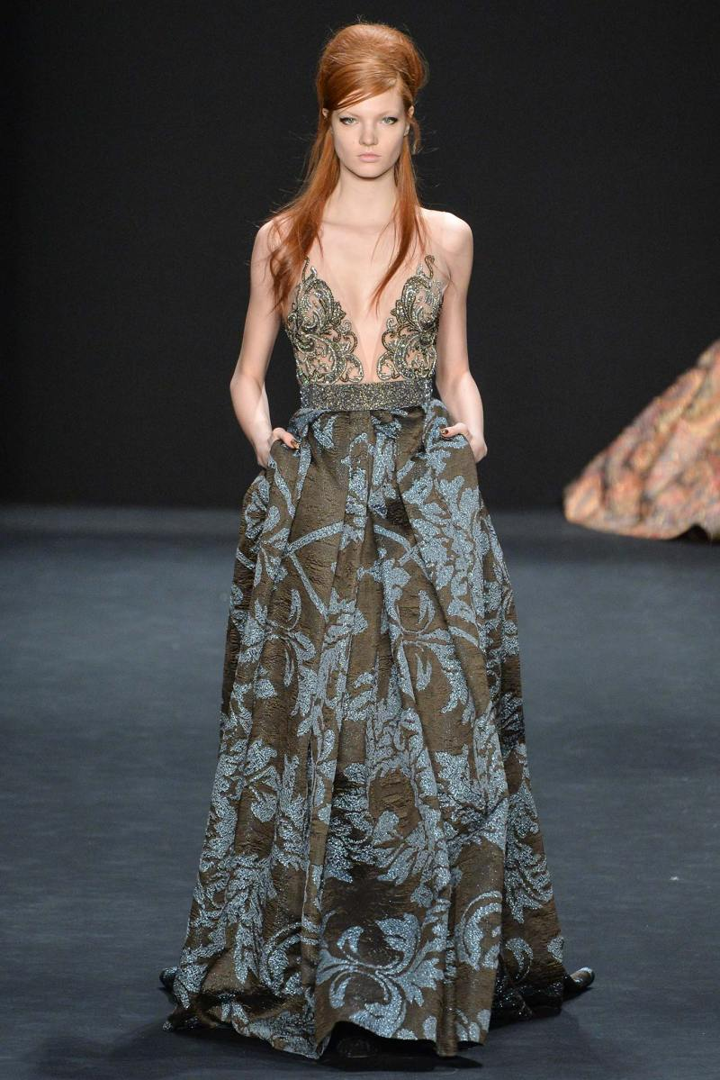 Badgley Mischka Ready to Wear FW 2015 NYFW (27)
