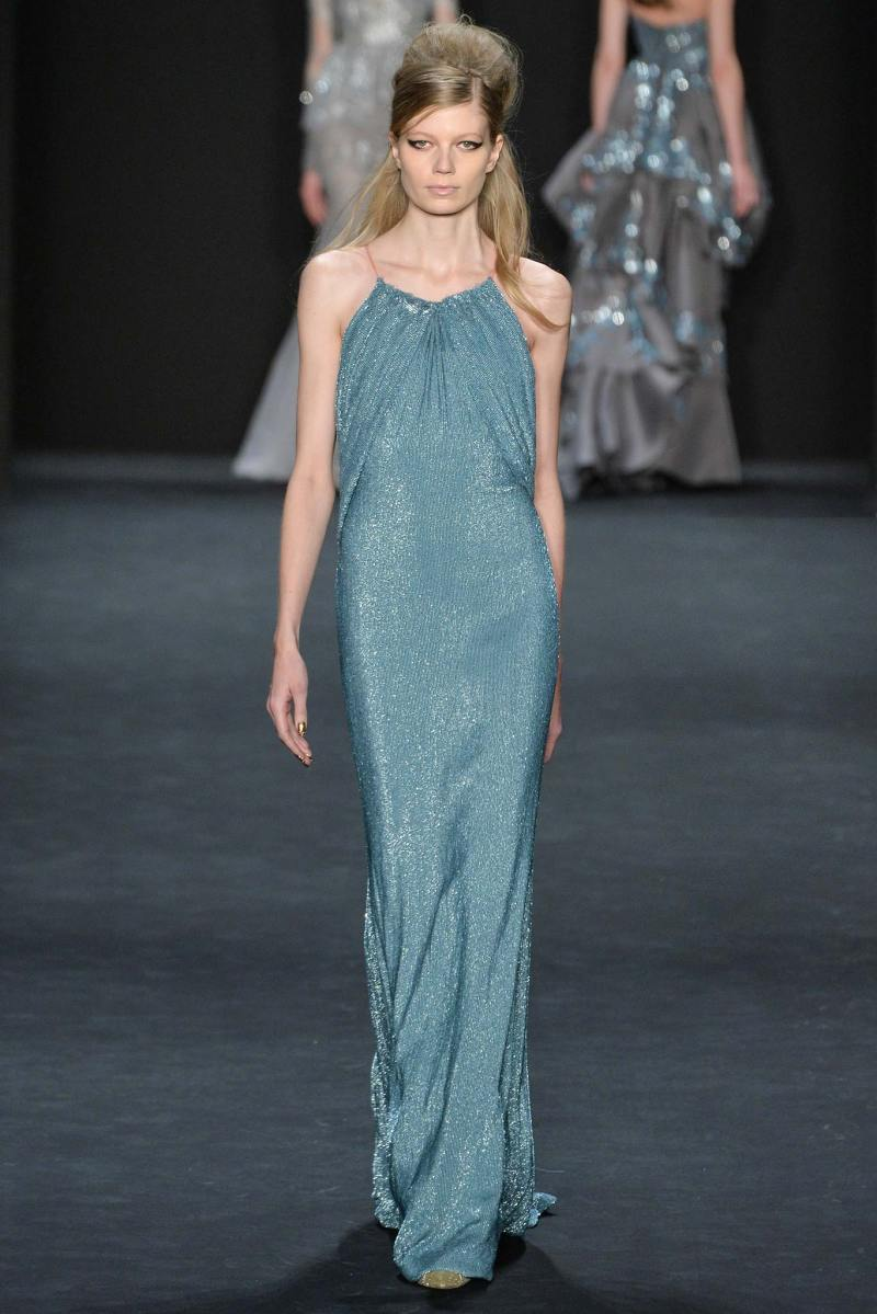 Badgley Mischka Ready to Wear FW 2015 NYFW (32)
