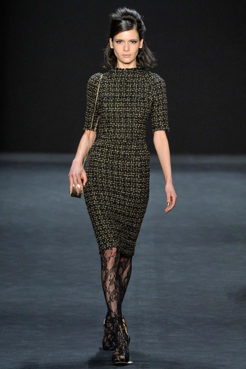 Badgley Mischka Ready to Wear FW 2015 NYFW (4)