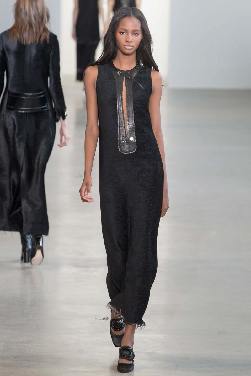 Calvin Klein Collection Ready to Wear FW 2015 NYFW (35)