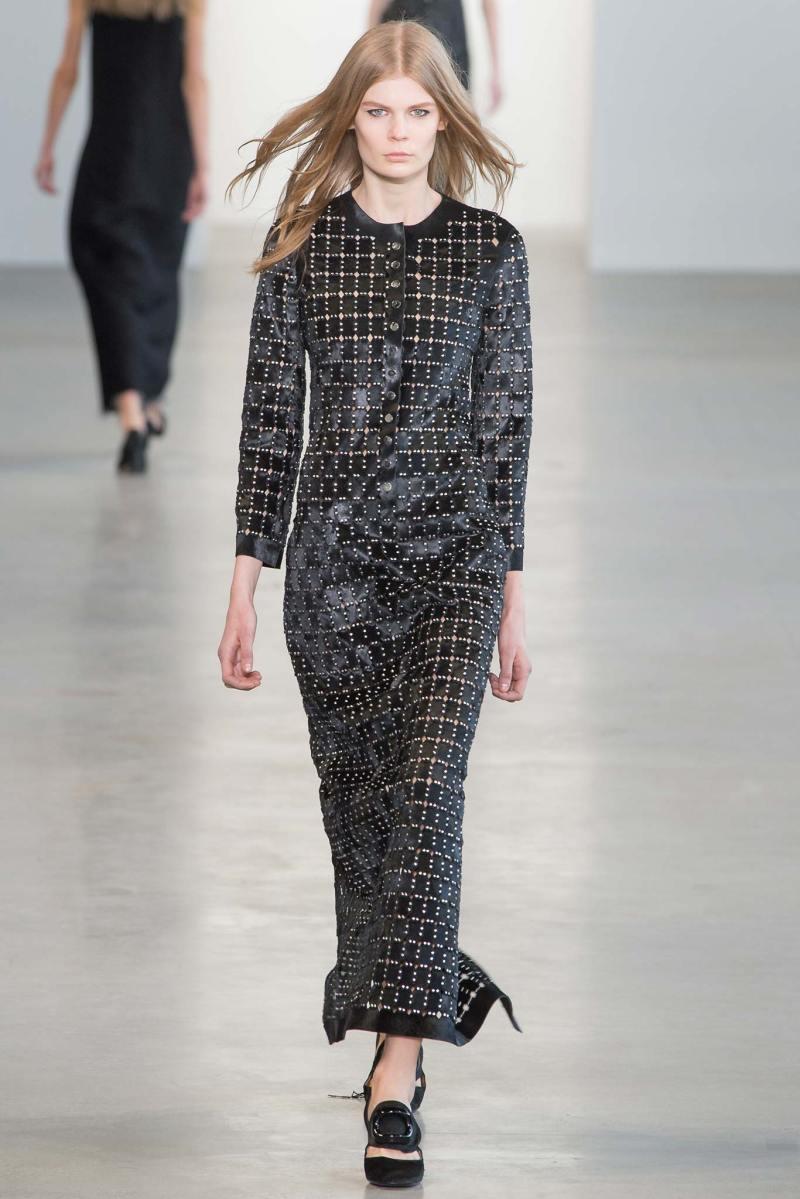 Calvin Klein Collection Ready to Wear FW 2015 NYFW (38)