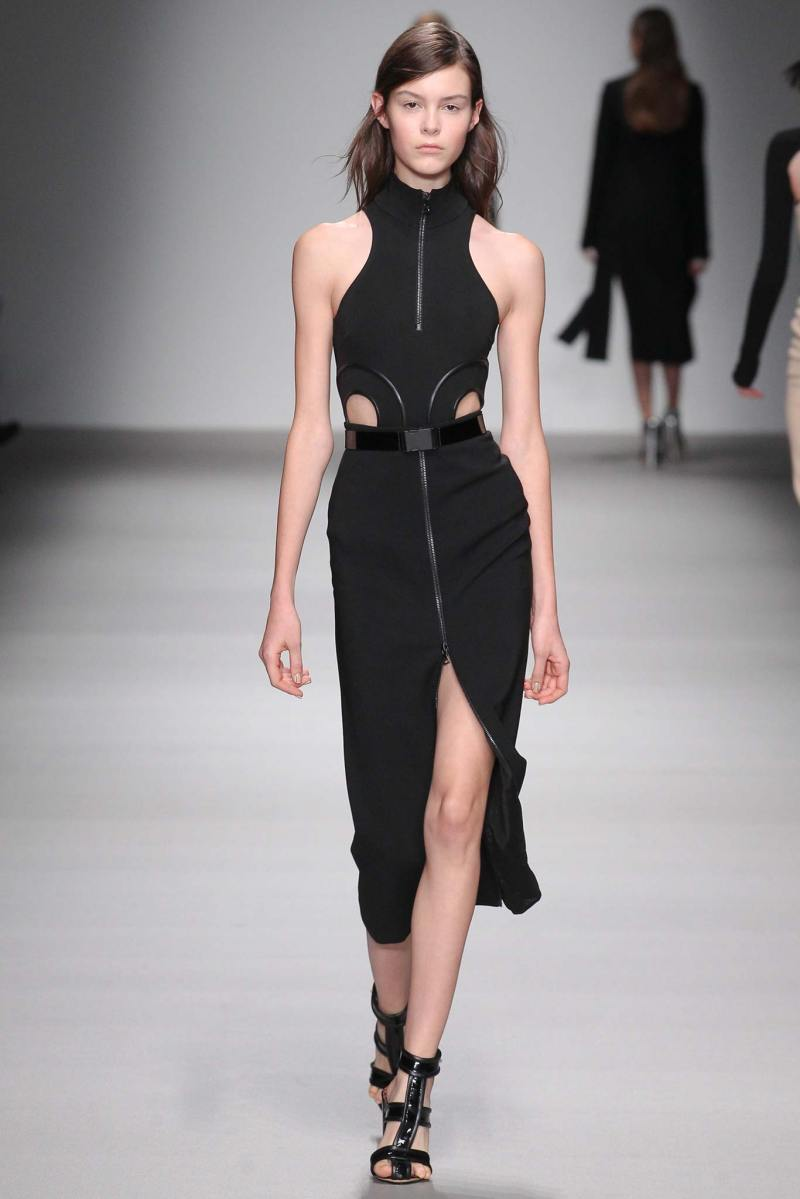 David Koma Ready to Wear FW 2015 LFW (10)