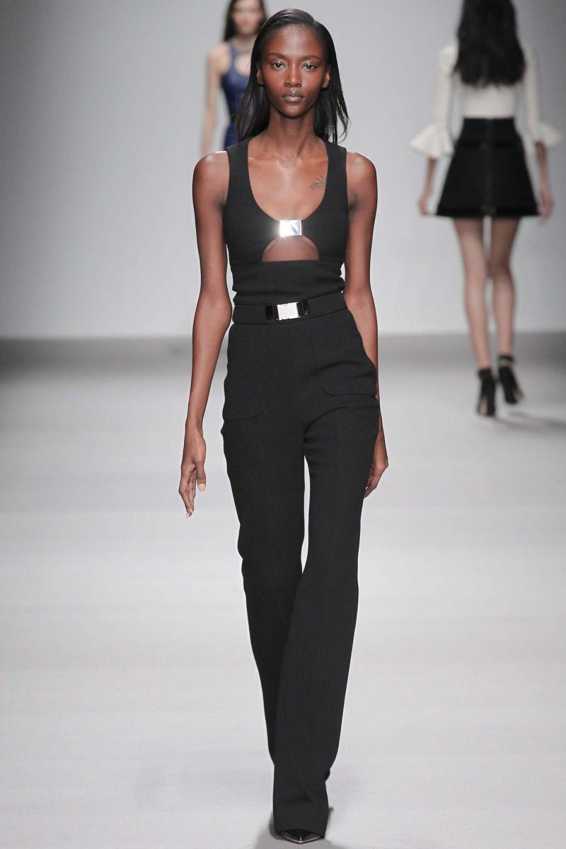 David Koma Ready to Wear FW 2015 LFW (14)