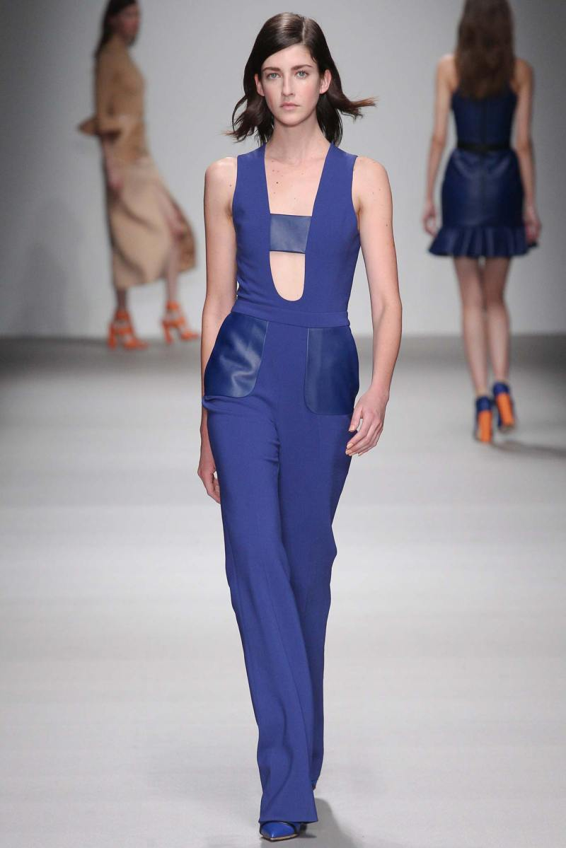David Koma Ready to Wear FW 2015 LFW (17)