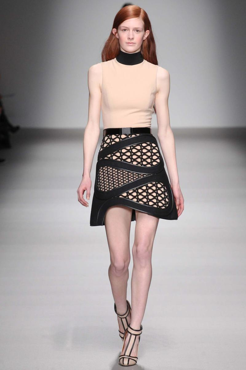 David Koma Ready to Wear FW 2015 LFW (23)