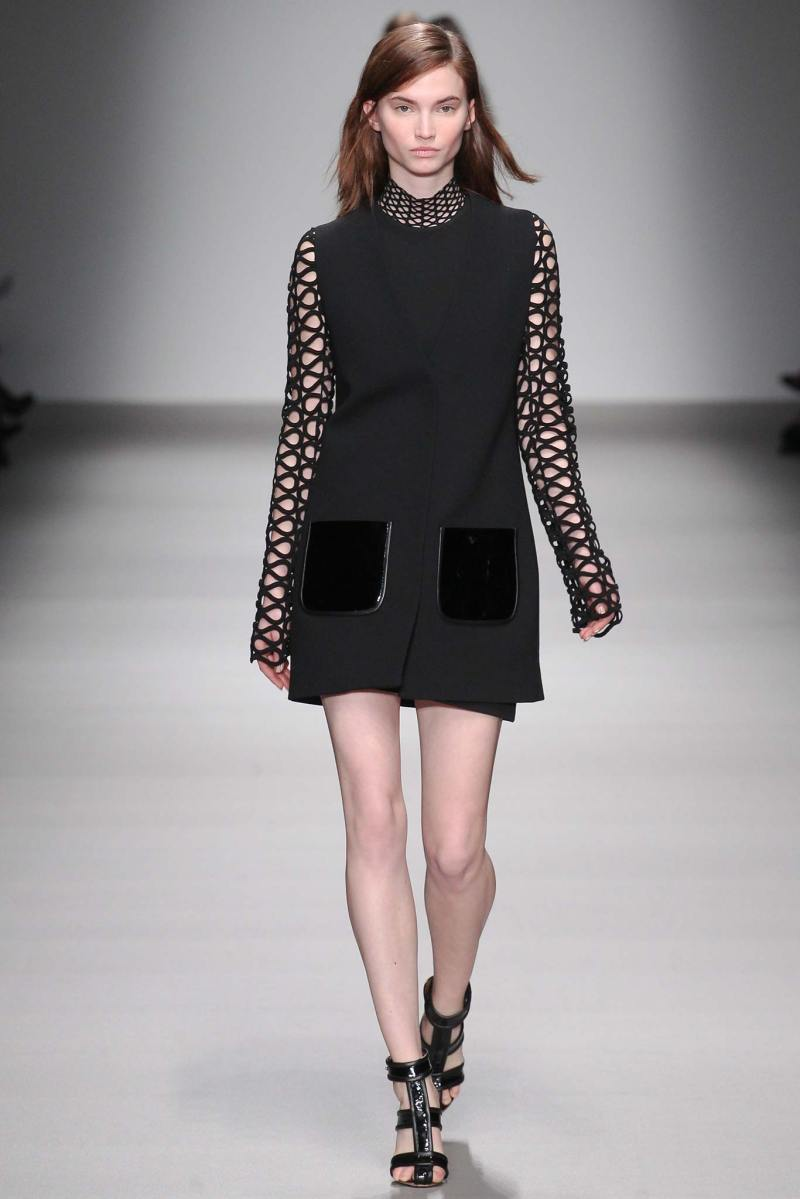 David Koma Ready to Wear FW 2015 LFW (27)