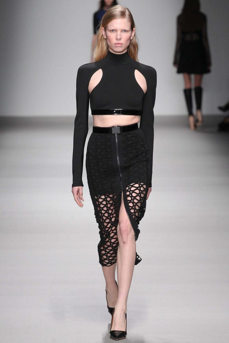 David Koma Ready to Wear FW 2015 LFW (28)