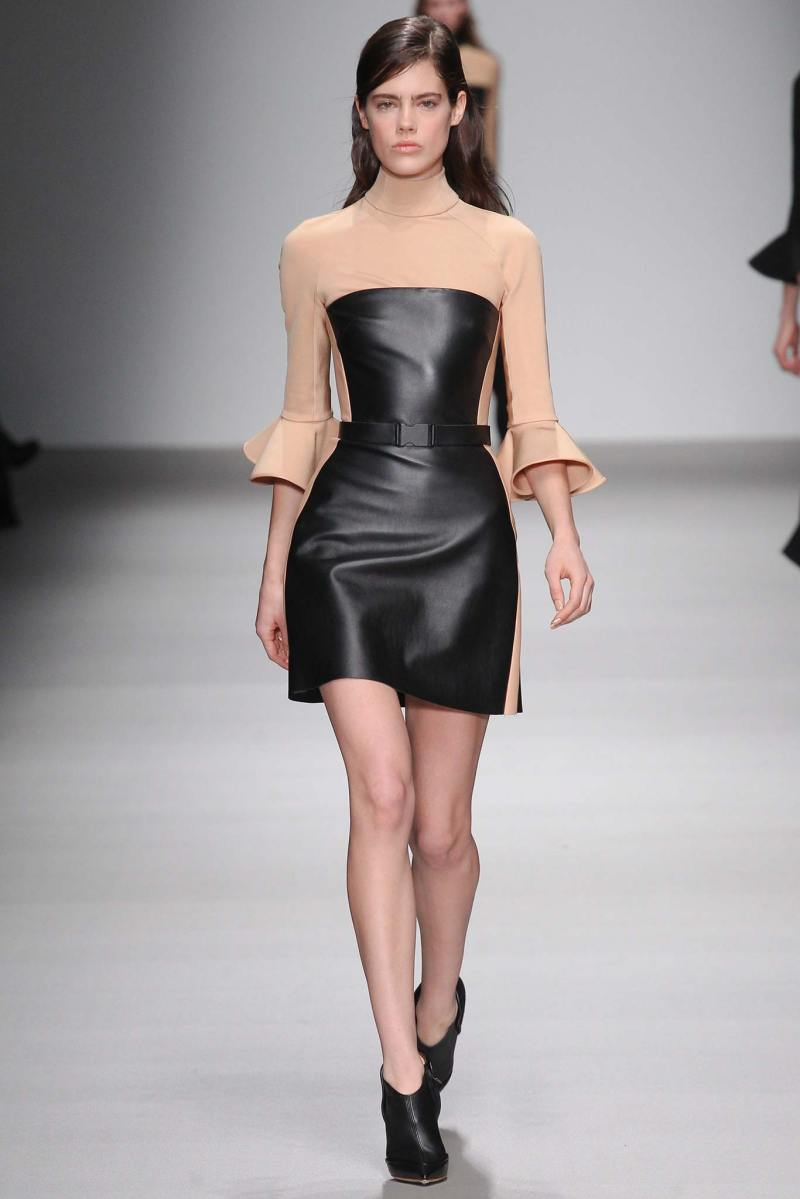 David Koma Ready to Wear FW 2015 LFW (3)
