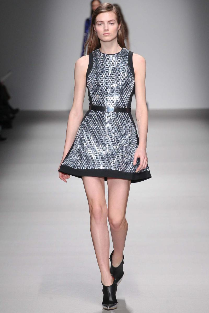 David Koma Ready to Wear FW 2015 LFW (32)