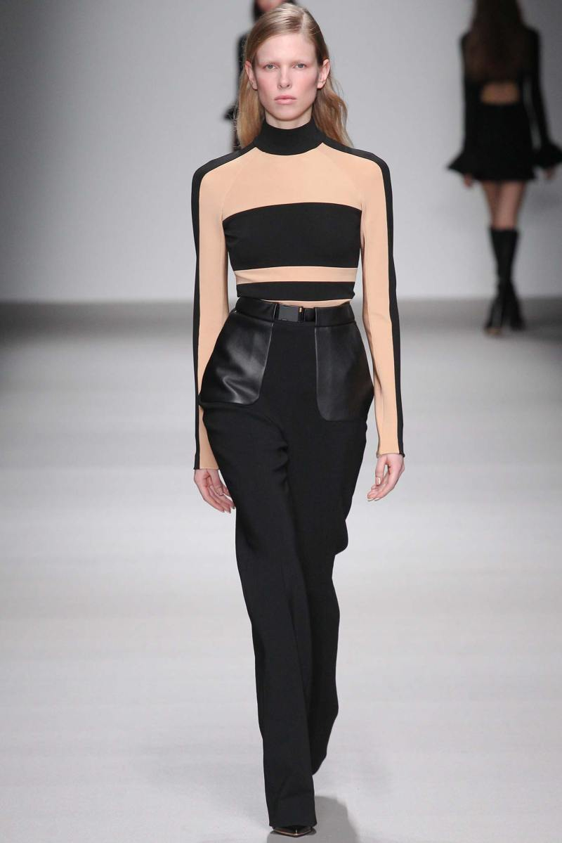 David Koma Ready to Wear FW 2015 LFW (4)