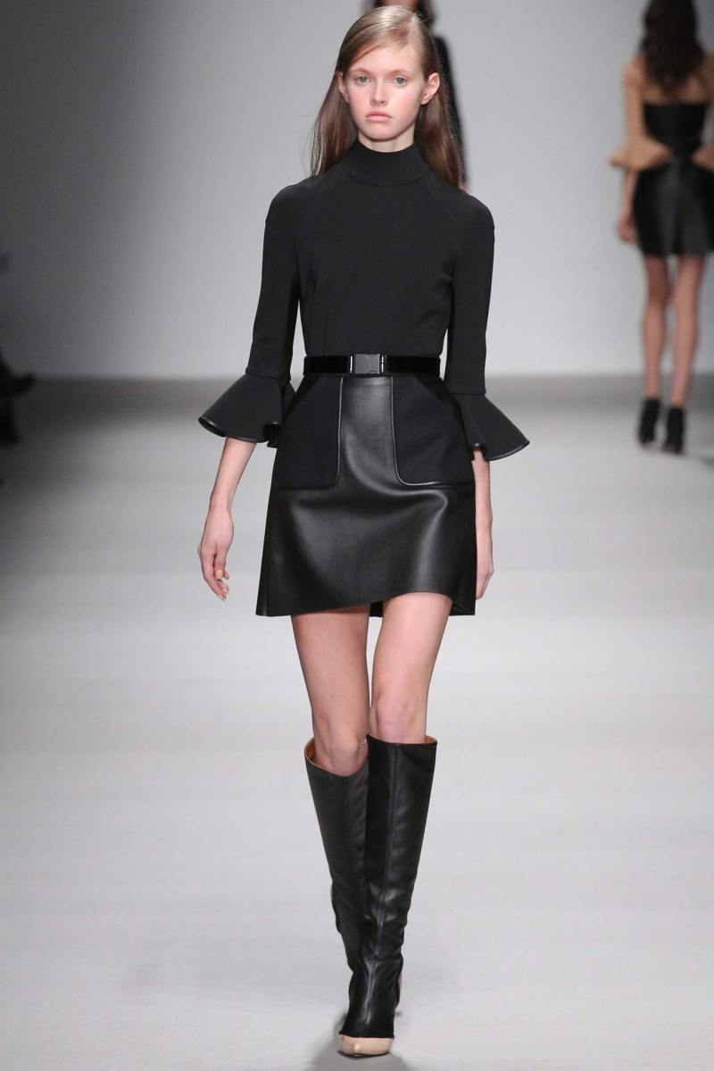 David Koma Ready to Wear FW 2015 LFW (5)