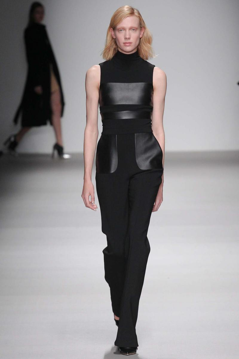 David Koma Ready to Wear FW 2015 LFW (7)