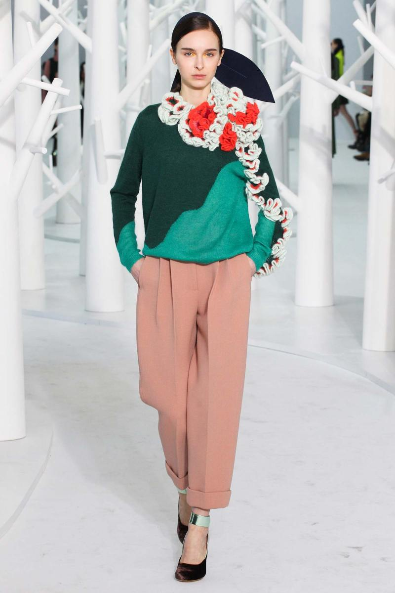 Delpozo Ready to Wear FW 2015 NYFW (4)