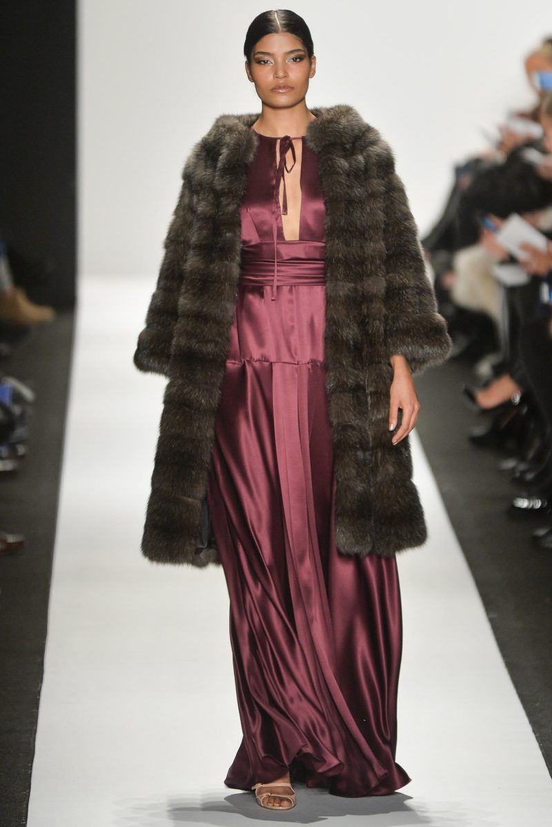 Dennis Basso Ready to Wear FW 2015 NYFW (30)
