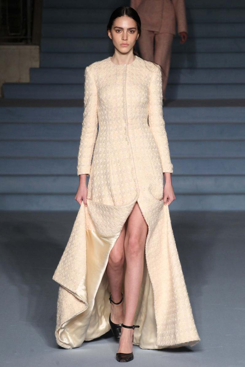 Emilia Wickstead Ready to Wear FW 2015 LFW (7)