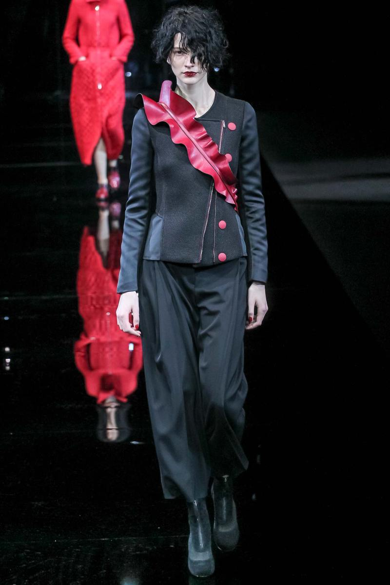 Emporio Armani Ready to Wear FW 2015 MFW (17)