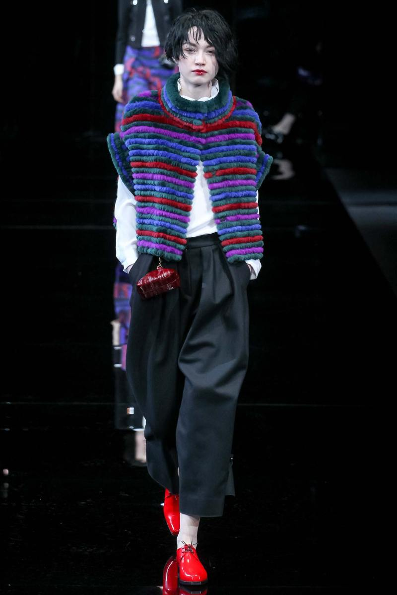 Emporio Armani Ready to Wear FW 2015 MFW (45)