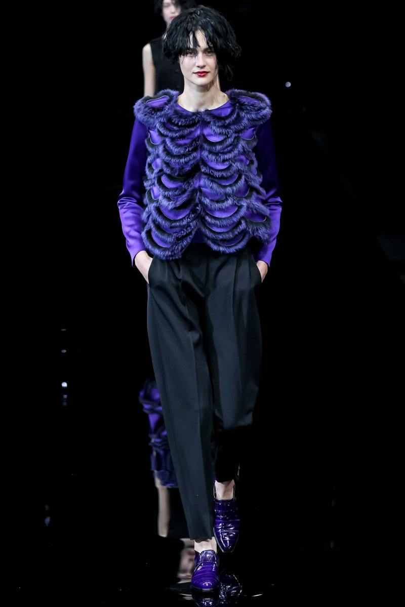 Emporio Armani Ready to Wear FW 2015 MFW (48)