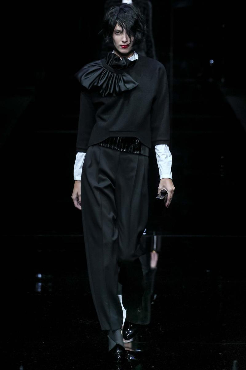 Emporio Armani Ready to Wear FW 2015 MFW (54)