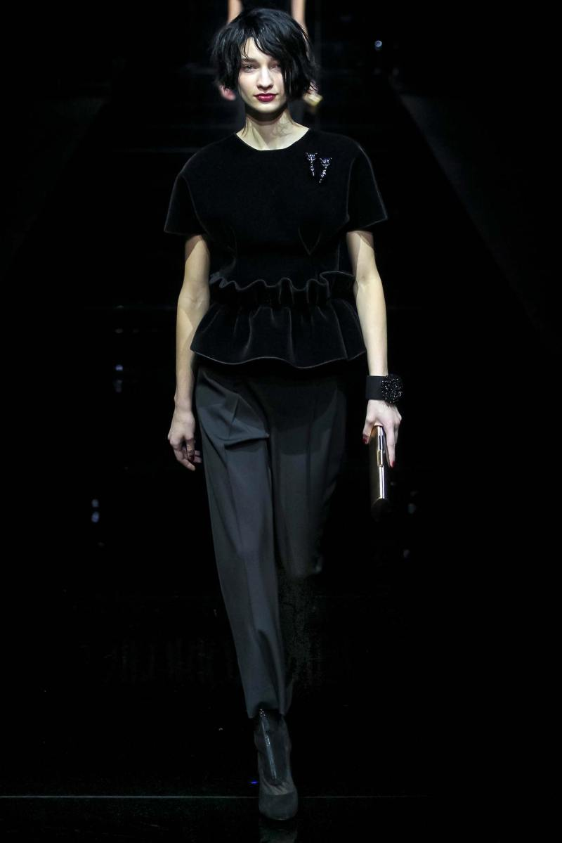 Emporio Armani Ready to Wear FW 2015 MFW (60)