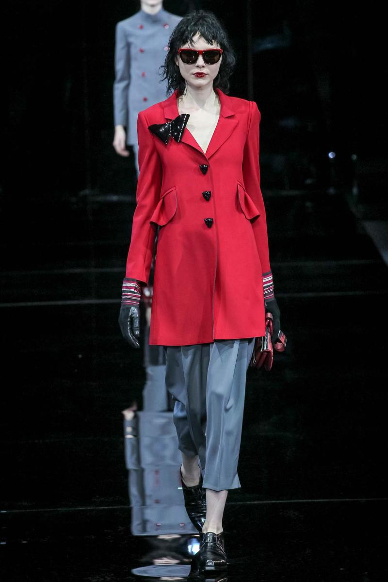 Emporio Armani Ready to Wear FW 2015 MFW (9)
