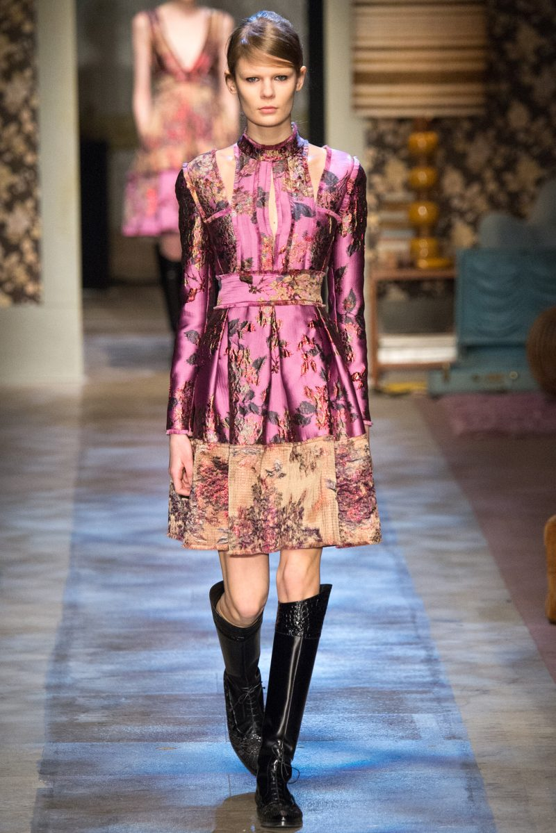 Erdem Ready to Wear FW 2015 LFW (1)