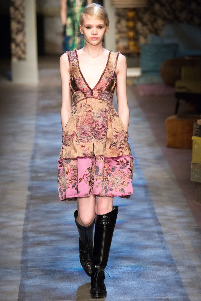 Erdem Ready to Wear FW 2015 LFW (2)