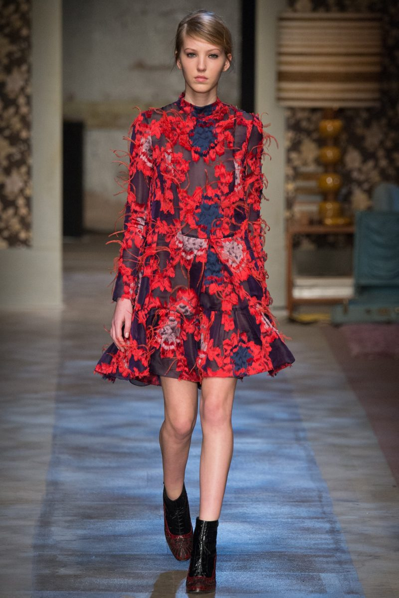 Erdem Ready to Wear FW 2015 LFW (26)