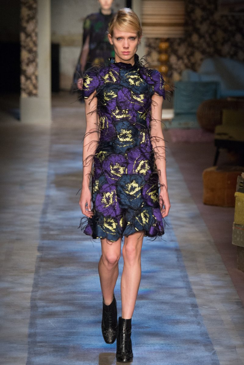 Erdem Ready to Wear FW 2015 LFW (29)