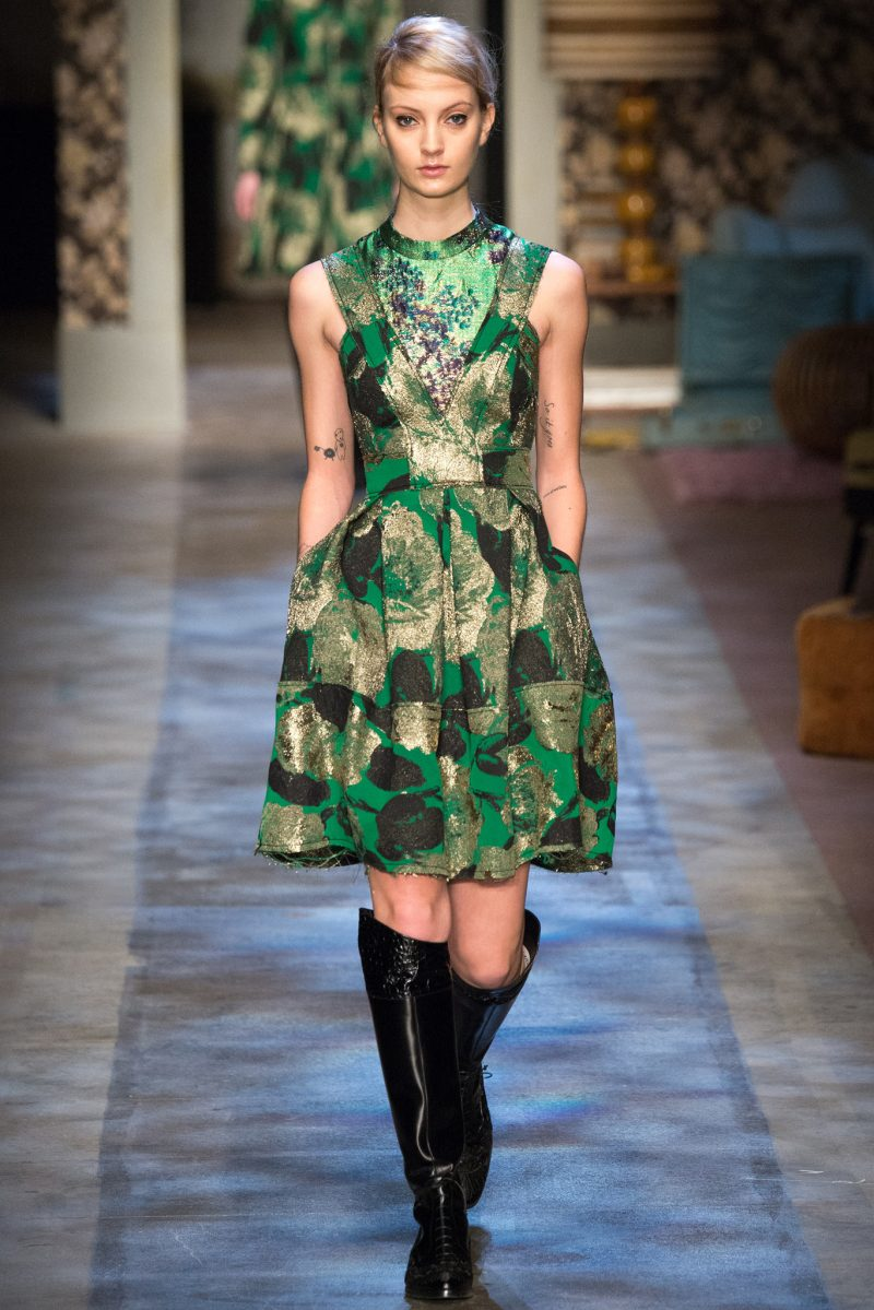 Erdem Ready to Wear FW 2015 LFW (4)