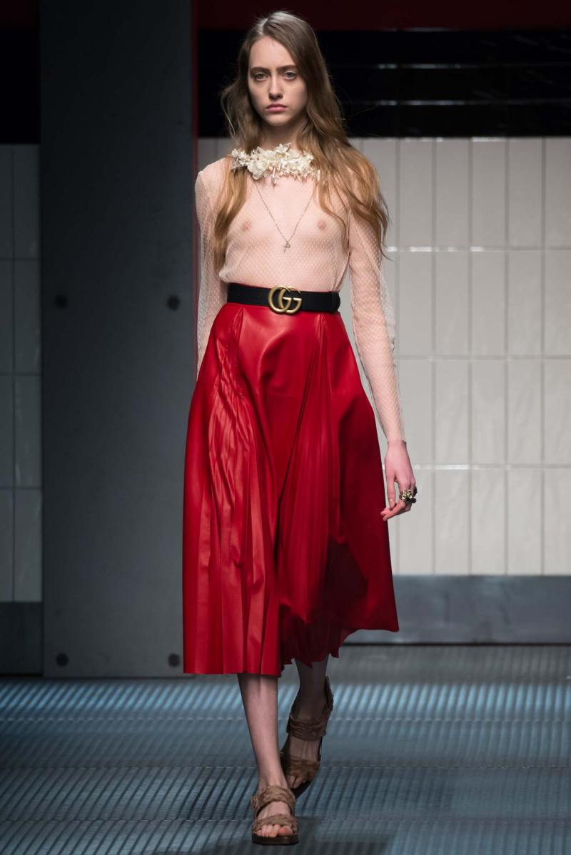Gucci Ready to Wear FW 2015 MFW (1)