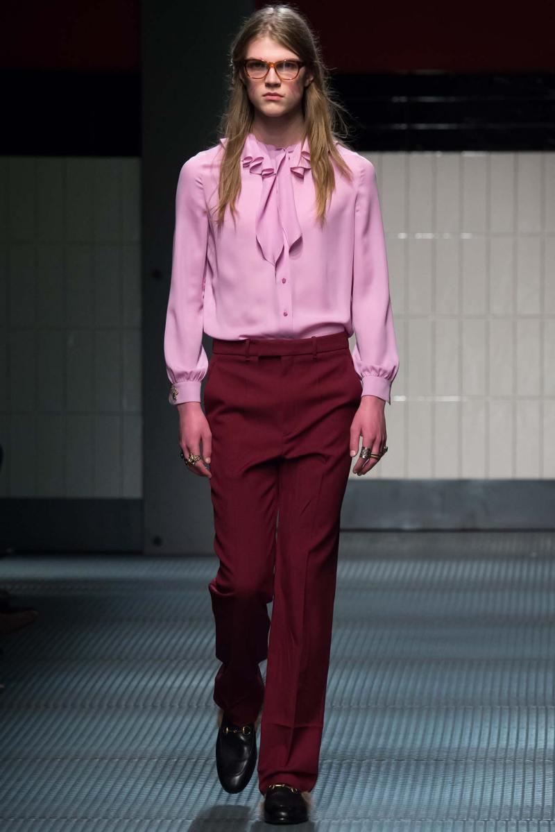 Gucci Ready to Wear FW 2015 MFW (8)