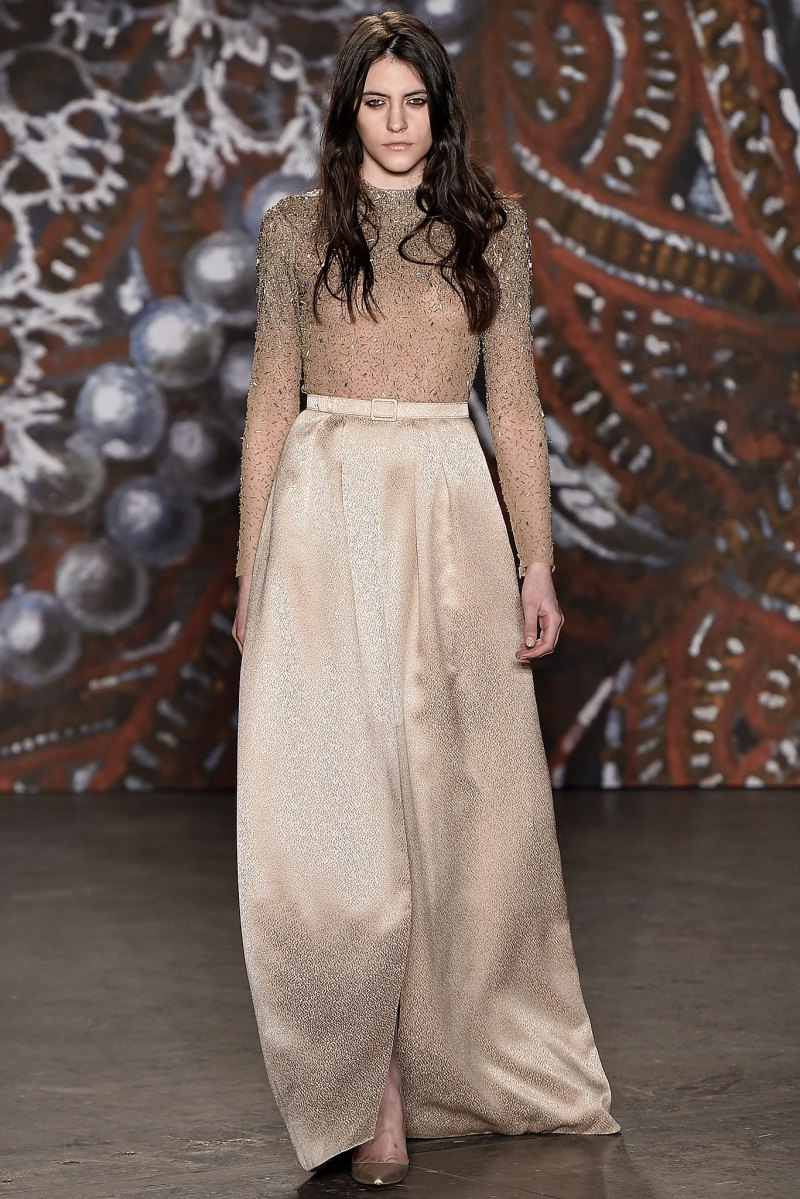Jenny Packham Ready to Wear FW 2015 NYFW (29)