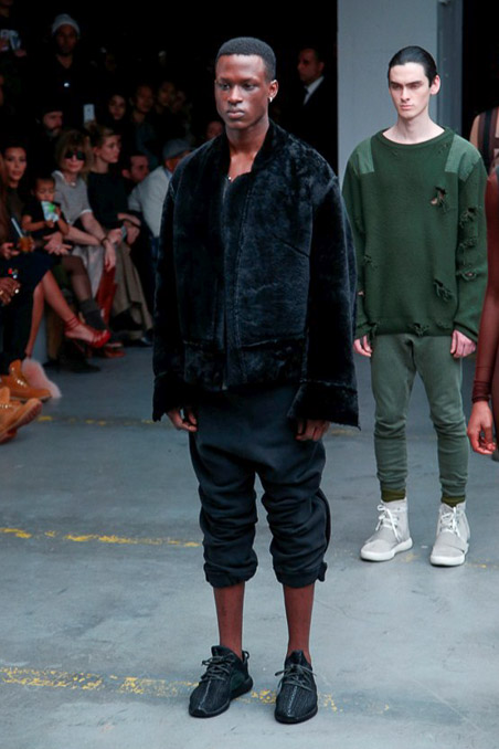 Kanye West x Adidas Originals Ready to Wear FW 2015 NYFW (1)