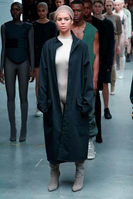 Kanye West x Adidas Originals Ready to Wear FW 2015 NYFW (43)